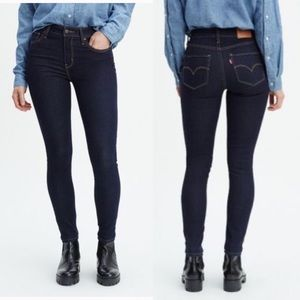 LEVI'S® 721 HIGH RISE SKINNY JEANS - TO THE NINE